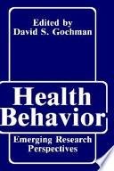 Health Behavior Book PDF