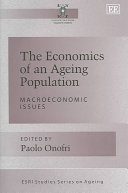 The Economics of an Ageing Population