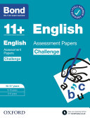Bond 11   Bond 11  English Challenge Assessment Papers 10 11 years