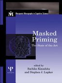 Masked Priming Pdf/ePub eBook