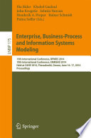 Enterprise  Business Process and Information Systems Modeling