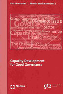 Capacity Development for Good Governance Book