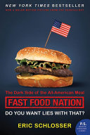 Fast Food Nation tie in Book