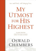 My Utmost for His Highest Book PDF