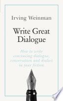 Write Great Dialogue