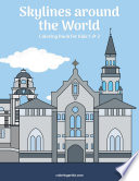 Skylines around the World Coloring Book for Kids 1 & 2
