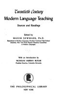 Twentieth Century Modern Language Teaching