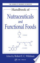Handbook Of Nutraceuticals And Functional Foods Book PDF
