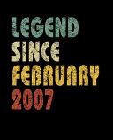 Legend Since February 2007