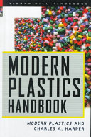 Modern Plastics Handbook Book