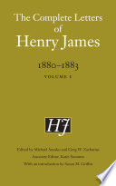 The Complete Letters of Henry James, 1880–1883