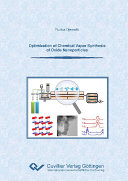 Optimization of Chemical Vapor Synthesis of Oxide Nanoparticles