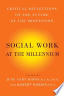 Social Work At The Millennium