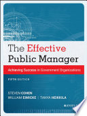 The Effective Public Manager Book