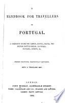 A Handbook For Travellers In Portugal