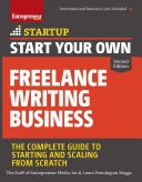 Pdf Start Your Own Freelance Writing Business Telecharger
