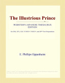 Download The Illustrious Prince (Webster's Japanese Thesaurus Edition) Pdf