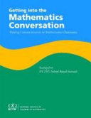 Getting Into the Mathematics Conversation