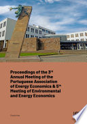 3rd Annual Meeting of the Portuguese Association of Energy Economics   5th Meeting of Environmental and Energy Economics