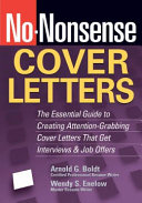 No nonsense Cover Letters