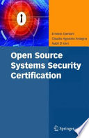 Open Source Systems Security Certification Book PDF