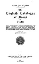 The English Catalogue of Books  annual
