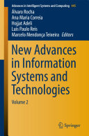 New Advances in Information Systems and Technologies