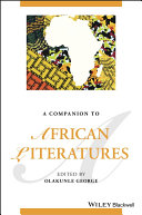 Pdf A Companion to African Literatures Telecharger