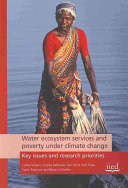 Water Ecosystem Services and Poverty Under Climate Change