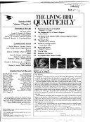 The Living Bird Quarterly Book PDF