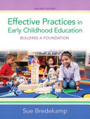 Effective Practices in Early Childhood Education