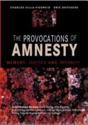 The Provocations of Amnesty ebook