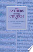 Life And Works The Fathers Of The Church Volume 98