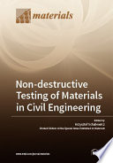 Non destructive Testing of Materials in Civil Engineering