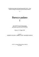 Pdf Barocco padano: Atti del IX Convegno internazionale sulla musica sacra nei secoli XVII-XVIII