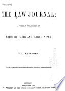 The Law Journal Pdf/ePub eBook