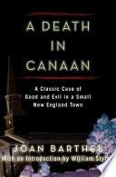 A Death in Canaan Book PDF