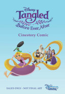 Disney Tangled Before Ever After Cinestory Comic