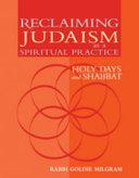 Reclaiming Judaism as a Spiritual Practice