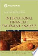 International Financial Statement Analysis Book