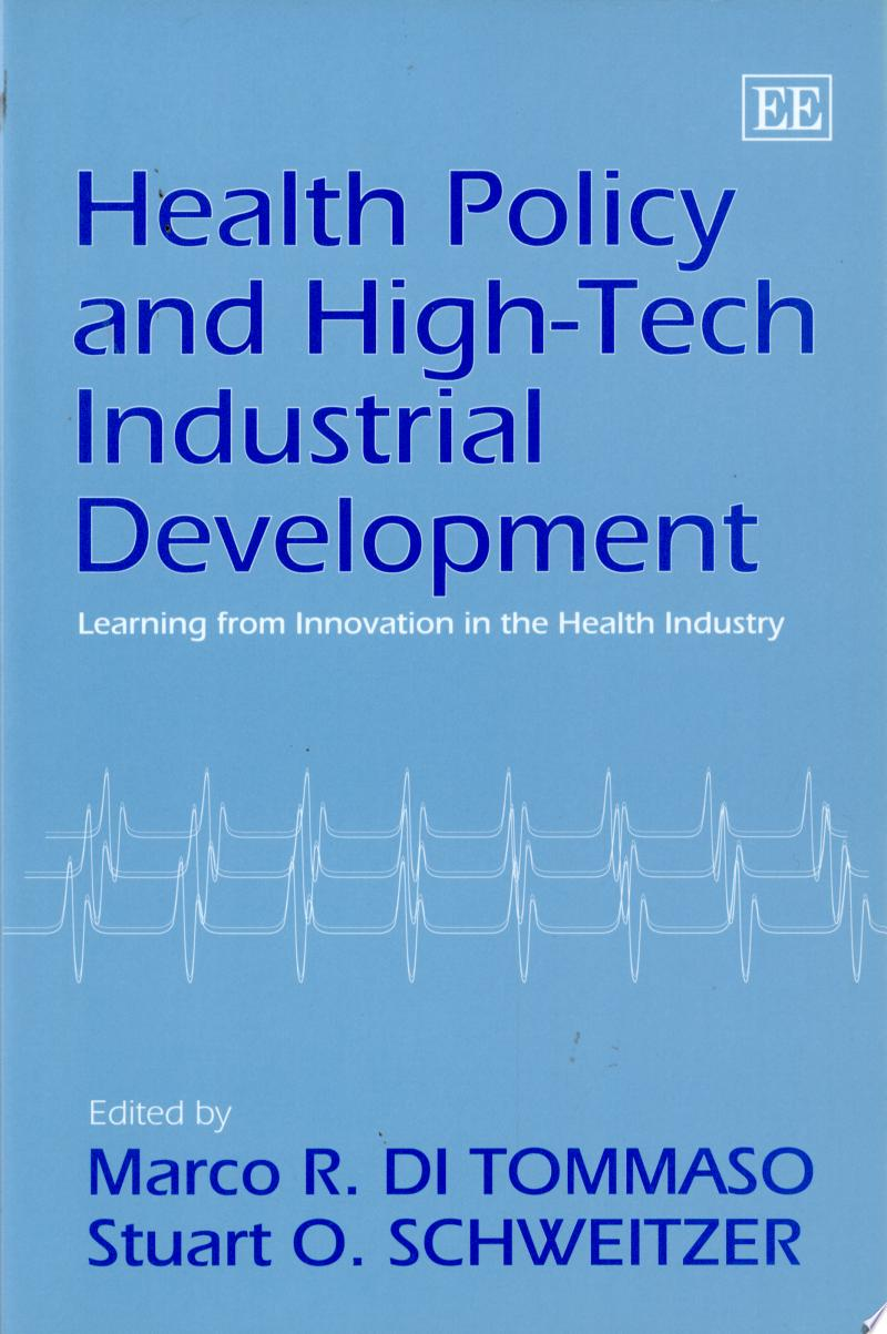 Health Policy and High-tech Industrial Development banner backdrop