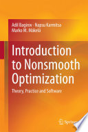 Introduction to Nonsmooth Optimization Book