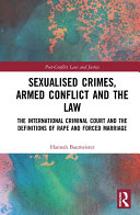 Sexualised Crimes, Armed Conflict and the Law Pdf/ePub eBook