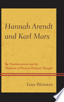 Hannah Arendt and Karl Marx