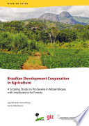 Brazilian Development Cooperation In Agriculture Book PDF