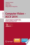 Computer Vision    ACCV 2014