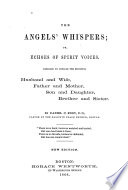 The Angels Whispers Or Echoes Of Spirit Voices Book PDF