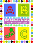 ABC Dot Marker Activity Book
