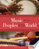 Music Of The Peoples Of The World Book