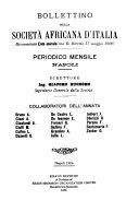 Bollettino della Società africana d'Italia